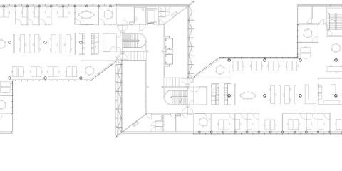 Tweede t/m zevende verdieping