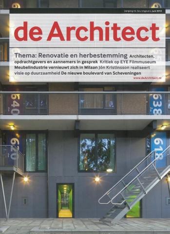 de Architect juni 2012 - 'Renovatie als architectonische opgave'