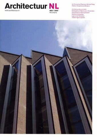 Architectuur NL #9, 20017 - 'Gemeentehuis en bibliotheek Heerhugowaard'