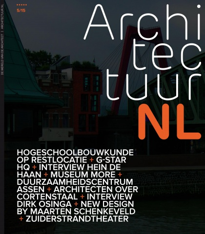 Architectuur.nl #5, 'Less is MORE'