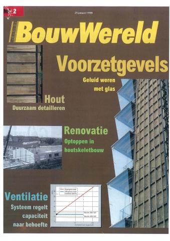 BouwWereld #2, 1999 - 'Geluid weren met glas'