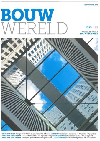 BOUWWERELD 02 2018, Balkonuitbreiding in hoogwaardig beton.