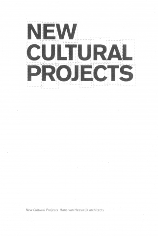 New Cultural projects