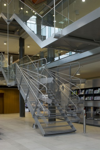 Interieur openbare bibliotheek Heerhugowaard