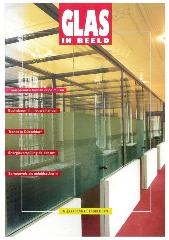 Glas in Beeld, oktober 1998 - 'Noordwachter en Brandaris: minder last verkeerslawaai'