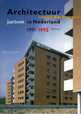 Jaarboek Architectuur in Nederland 1991/1992 - 'De herovering van de transparantie'