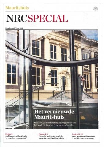 NRC Special, 26 juni 2014, 'Het vernieuwde Mauritshuis'