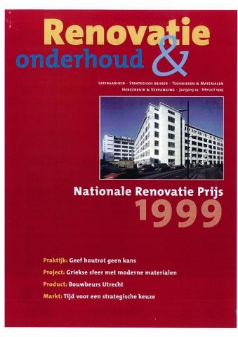 Renovatie & Onderhoud, februari 1999 - 'De Noordwachter, Zaandam'