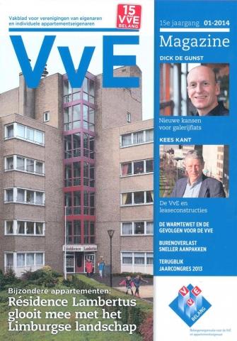 VvE #1, 2014 - 'Wedergeboorte voor de galerijflat'