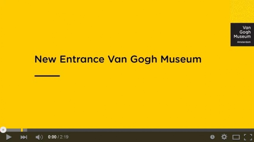 New Entrance Van Gogh Museum