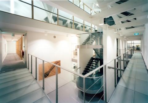 Interieur kantoor Fonds BKVB