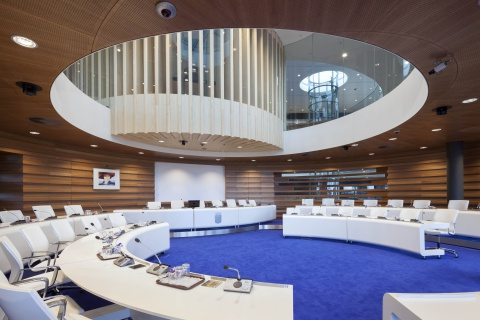 Interieur gemeentehuis Lansingerland