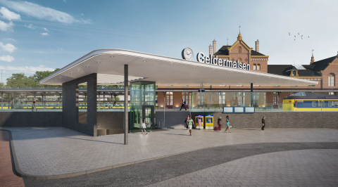 Station Geldermalsen, Hans van Heeswijk architecten wint besloten competitie.