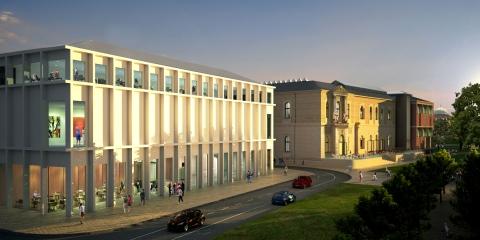 Staatliche Kunsthalle Karlsruhe, renovatie en uitbreiding