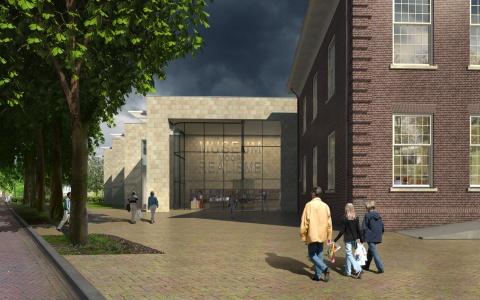 Lezing Hans van Heeswijk in Lochem over museumontwerpen.