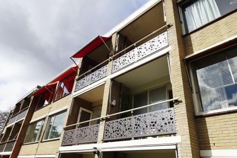 Opwaardering flats Koningslaan Baarn.