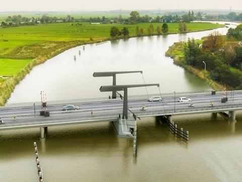 Werkzaamheden reconstructie Vechtbrug Uitermeer van start.