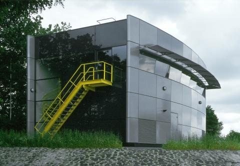 Bedieningsgebouw RWS Borgharen