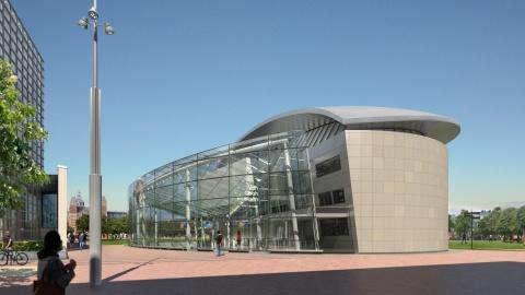Definitief Ontwerp Entreegebouw Van Gogh Museum gereed.